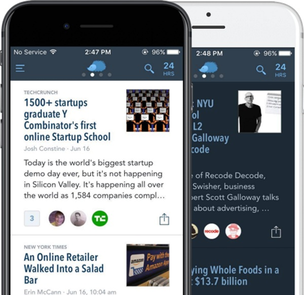 Nuzzle – get all the news from Twitter without looking at your feed