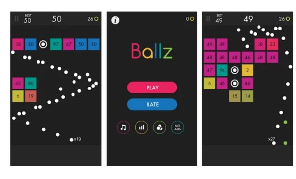 Ballz – break bricks while you wait in line this year