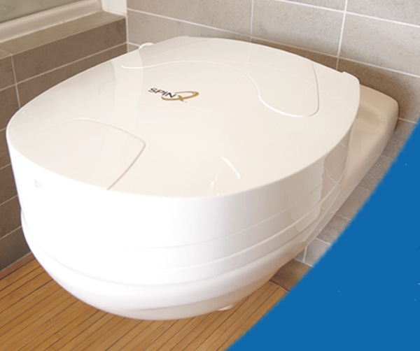 SpinX- say goodbye to scrubbing toilets with this cool seat
