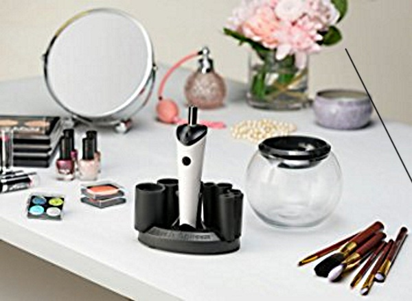 Makeup Brush Cleaner – use this to clean and dry in just a few seconds