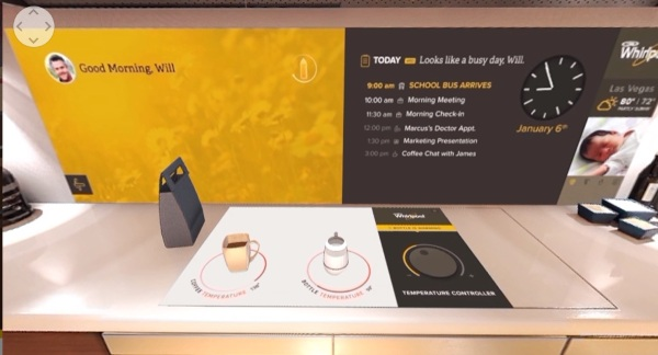 Whirlpool Smart Kitchen – in the future, your kitchen controls your life