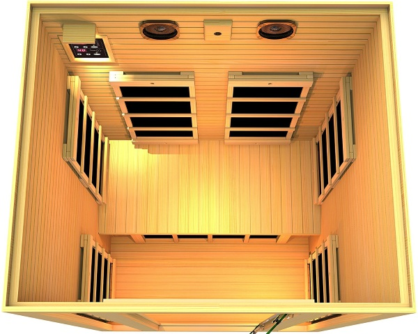 Two Person Far Infrared Sauna – get ultimately relaxed right at home
