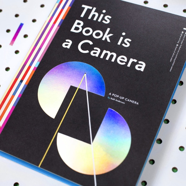 This Book is a Camera – learn how photography works, with this camera/book