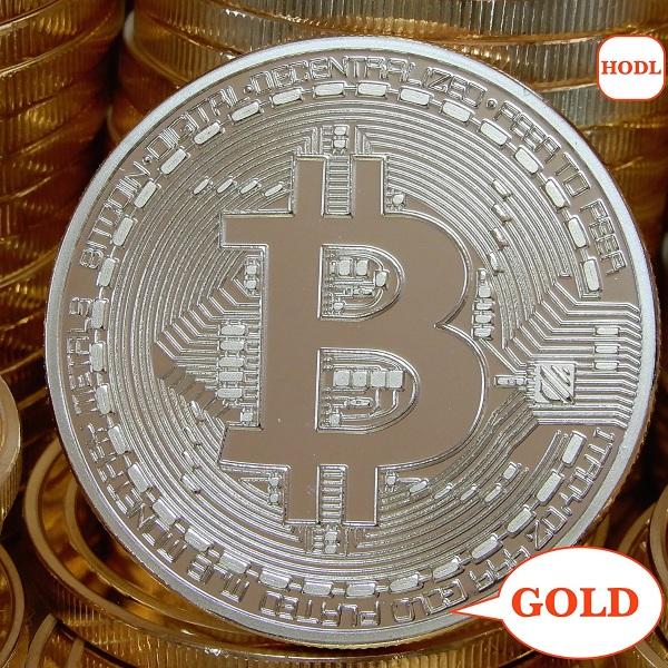 Gold Bitcoin – a Bitcoin you can actually hold