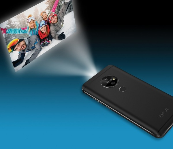 Movi Smartphone – the phone with a projector