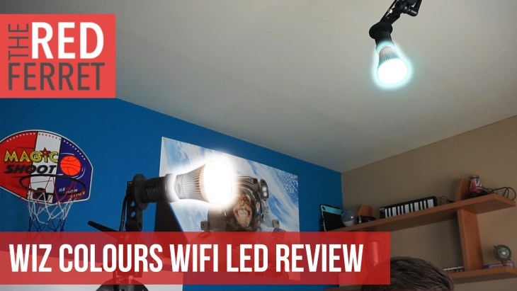 WiZ Colours WiFi LED – The New Camera Light? [REVIEW]