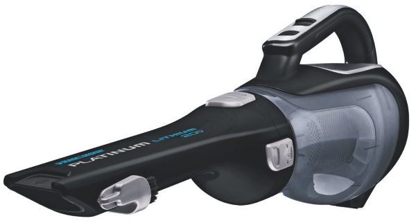 Black + Decker Cordless Hand Vacuum – take out those dust bunnies behind the sofa finally