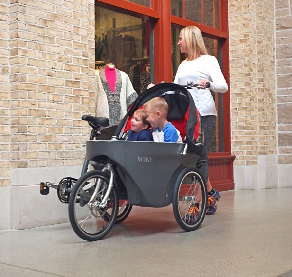 Salamander Cycle Stroller – the easy bike stroller solution