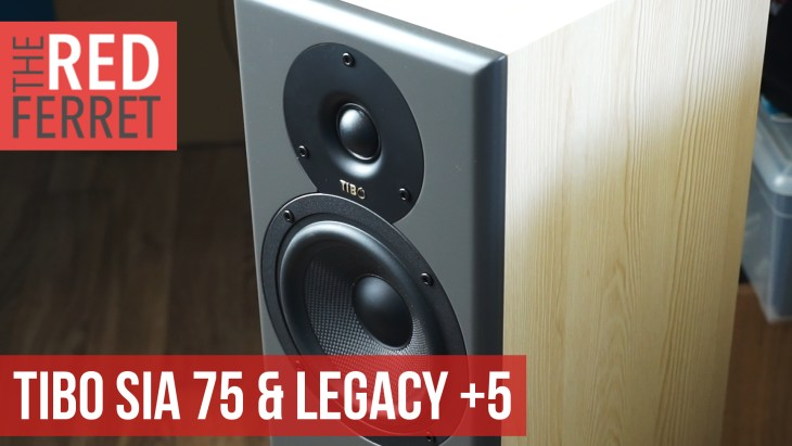 Tibo Legacy 5+ & SIA 75 – The Amazing Speaker Combination! [REVIEW]