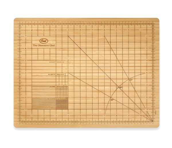Obsessive Chef Cutting Board – get a perfect cut, every time