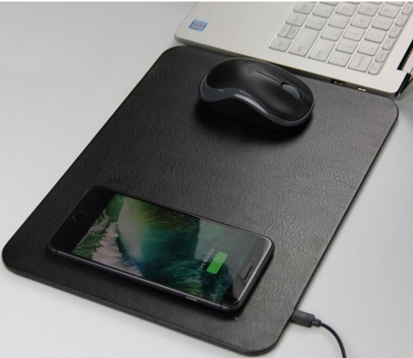Wireless Charging Mouse Pad – charge your phone while you work