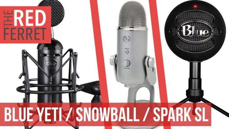 Blue Yeti vs Snowball vs Spark SL Comparison!