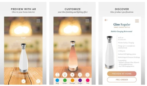 Deconnect – in the future you can see your products in your house before you buy them