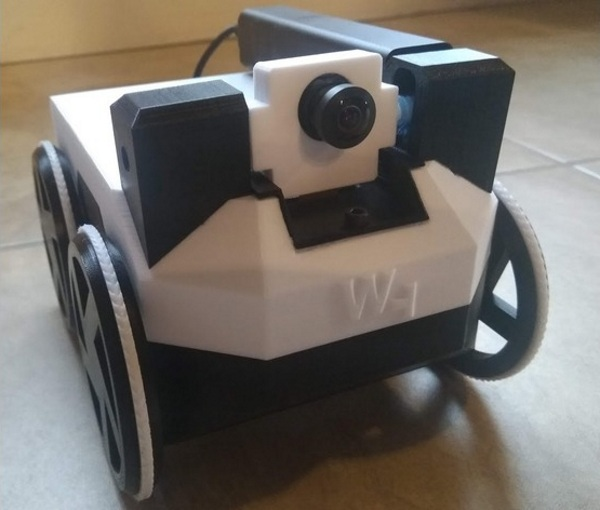 Watney – build your own camera rover with 3D printing
