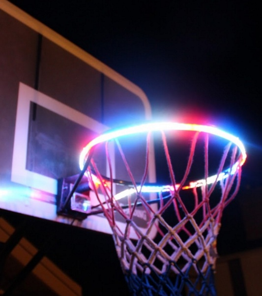 HoopLight – give your basketball hoop some flair