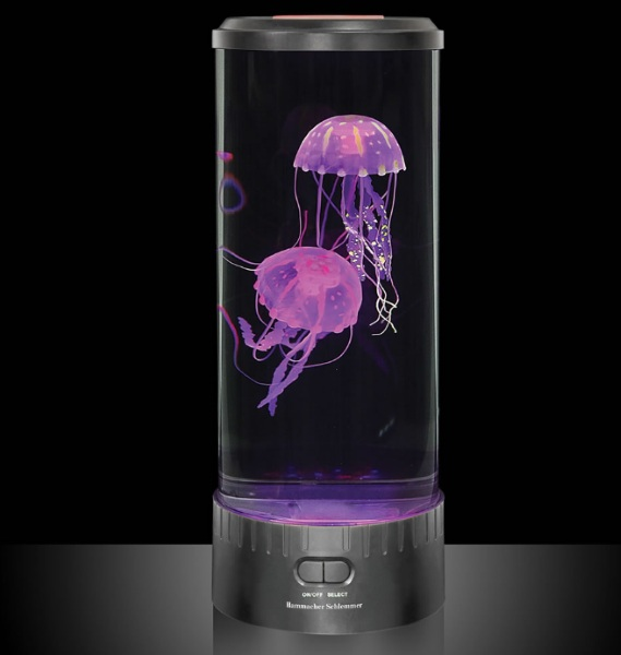 Hypnotic Jellyfish Aquarium – a very chill alternative to a real tank