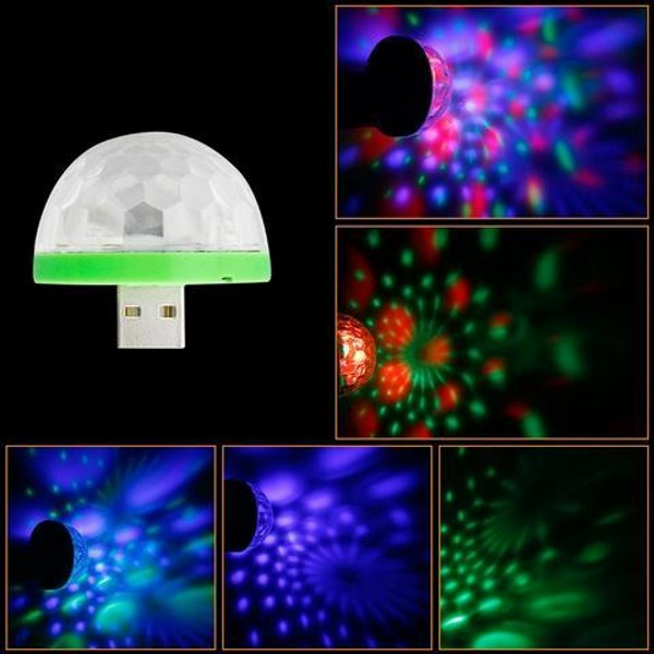 Mini USB Light – plug in for a party