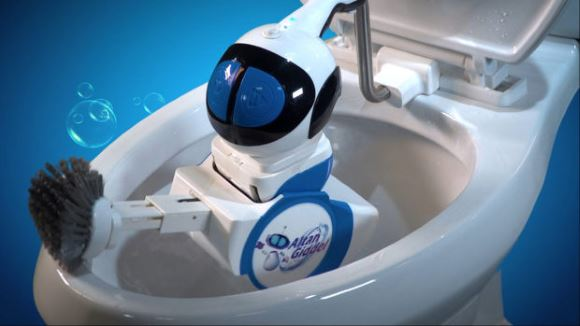 Giddel: The robot designed for cleaning your dirty toilets