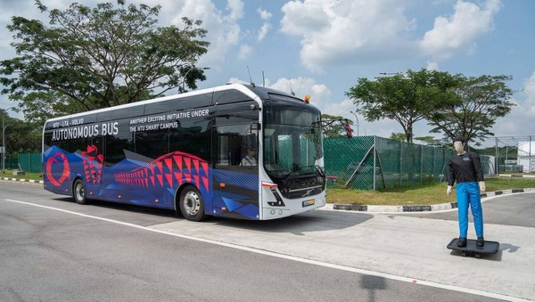 Electric Passenger Bus – this bus has zero emissions and is coming to zip you around campus