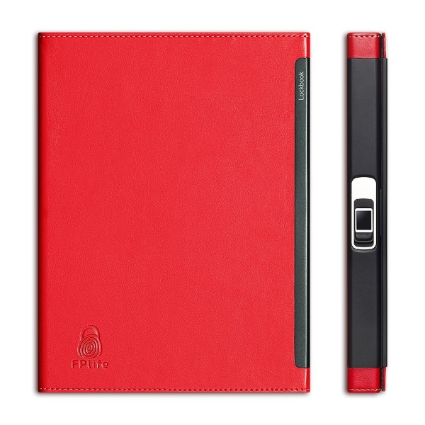 Lockbook – fingerprint protect your notes