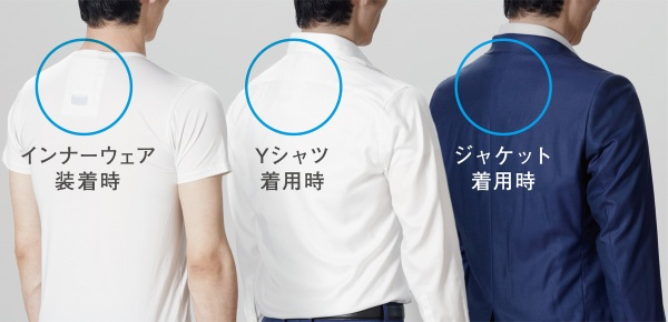 Reon Pocket – personal air con for your shirt
