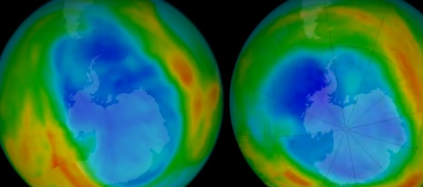 Ozone Hole Smaller than Normal – smallest it has been in thirty years