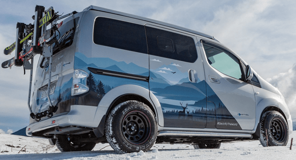 Nissan Winter Camper shows how not to launch a new EV
