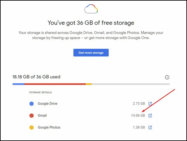 Running out of free Google space? Try this quick tip to save spending money on an upgrade.