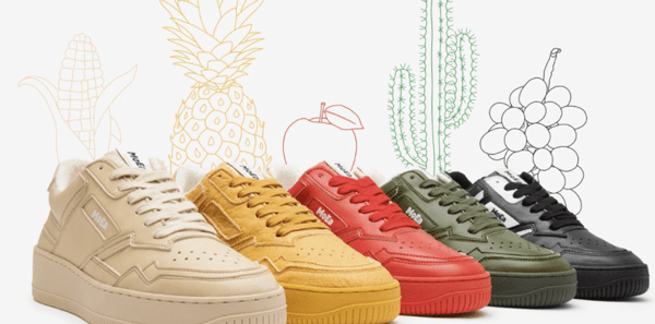 MoEa – sneakers made from fruit offer a low carbon alternative to leather and plastic