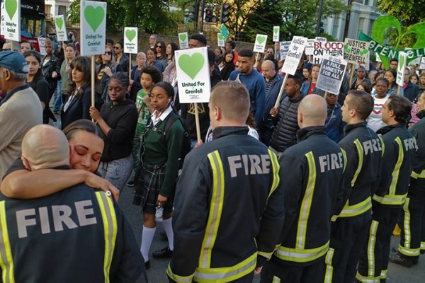 "Two years after Grenfell, firefighters say ""Never Again!"""