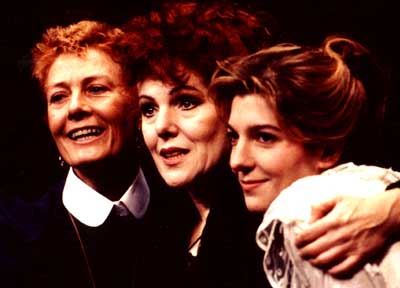 Vanessa, Lynn and Jemma Redgrave in Three Sisters 1991