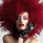 Big hair red pomegranate hairstyles