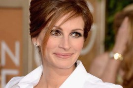 Julia Roberts Hairstyle red carpet 2014