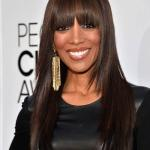 Long straight hairstyles for African American women 2014