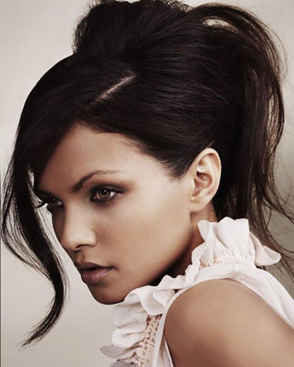 Hairstyles for fall, natural hairstyles with ponytail