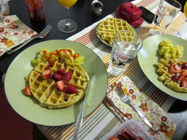 Vegan Waffle Obsession | Red-Handled Scissors