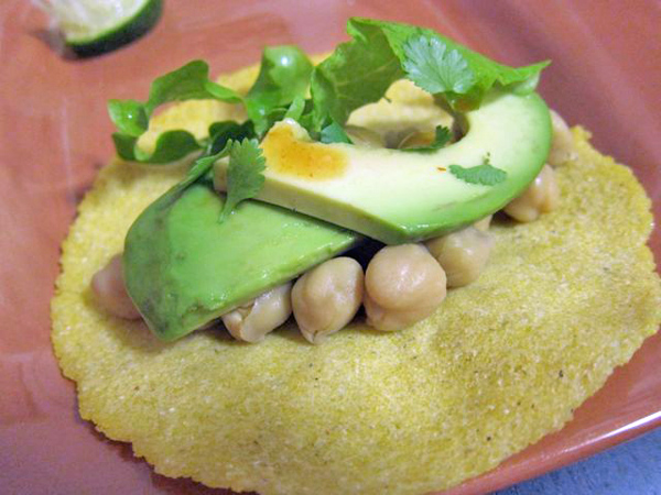 Recipe: Saturday Night Chickpea Tacos in 3 Easy Steps | Red-Handled Scissors