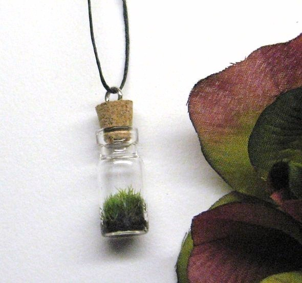Friday Internet Crushes: Moss and Terrarium Jewelry | Red-Handled Scissors