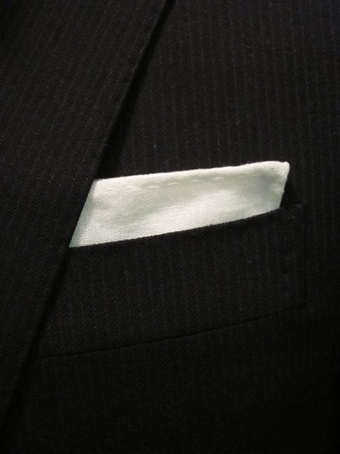 Tutorial: Hand-Stiched Pocket Square | Red-Handled Scissors