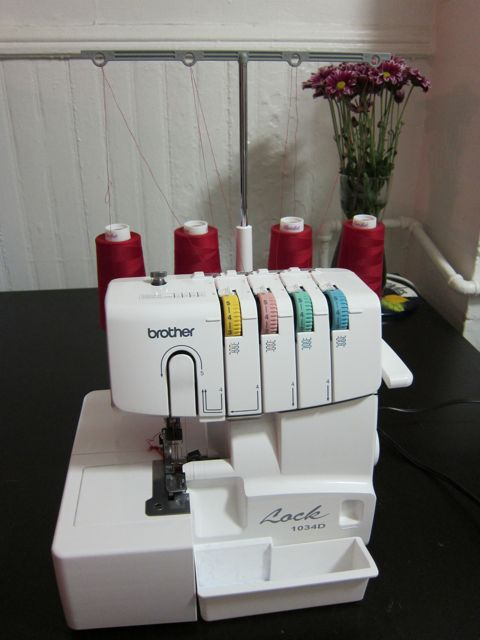 Review: Brother 1034D Serger for Craft Test Dummies | Red-Handled Scissors