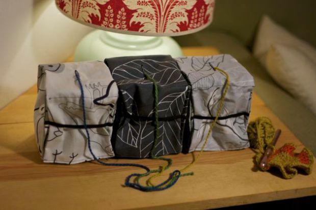 Tutorial: Modular Colorwork Yarn Holders | Red-Handled Scissors