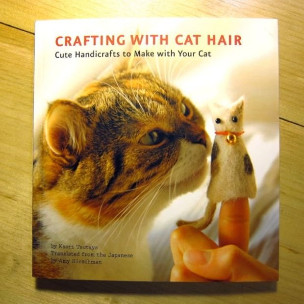 Review: Crafting with Cat Hair for Craft Test Dummies | Red-Handled Scissors
