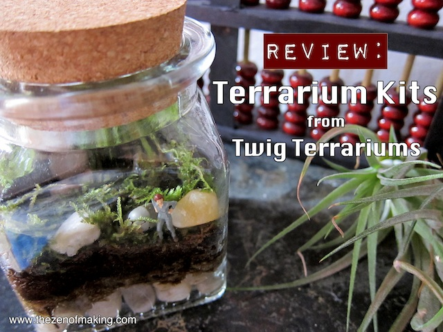 Review: Twig Terrariums Terrarium Kits | Red-Handled Scissors
