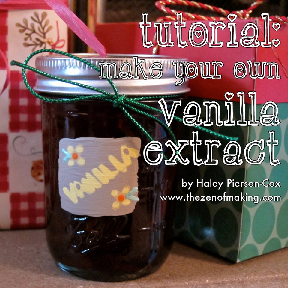 Tutorial: Make Your Own Vanilla Extract | Red-Handled Scissors