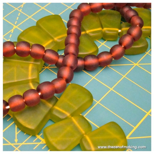 Craft Haul: Faux Glass Resin Beads | Red-Handled Scissors