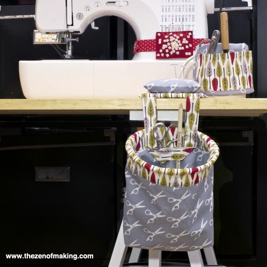 Review: Kwik Sew Organizer Patterns | Red-Handled Scissors