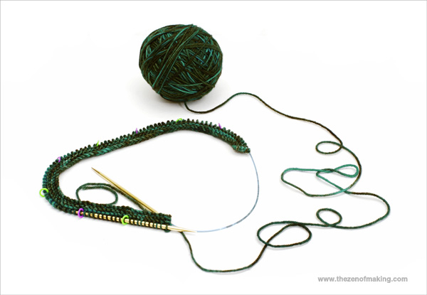 Knitting a Sweater: Yarn Acquired, Cast-On Survived | Red-Handled Scissors
