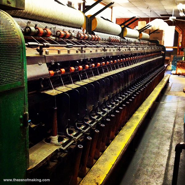 Sunday Snapshot: Green Mountain Spinnery | Red-Handled Scissors