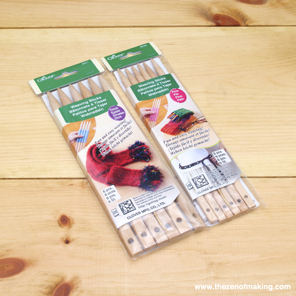 Review: Clover Weaving Sticks | Red-Handled Scissors