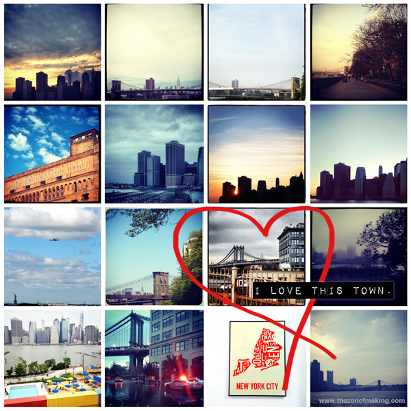 NYC: I Love This Town. | Red-Handled Scissors